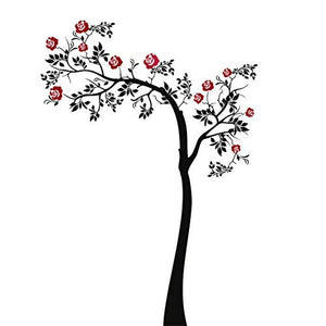 Rose Tree Big & Small Sizes Colour Wall Sticker Modern Shabby Chic Style / Tree91