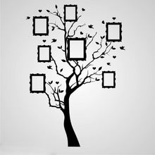 FAMILY TREE PICTURES FRAMES Sizes Reusable Stencil Floral Nature Shabby Chic 'Tree50'
