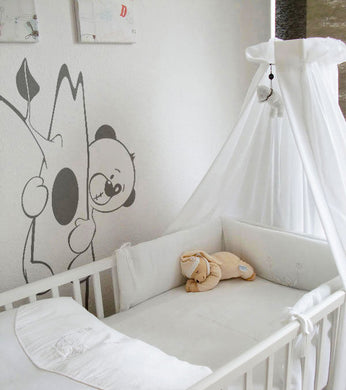 TEDDY BEAR & BEE FUNNY KIDS ROOM Big & Small Sizes Colour Wall Sticker Animal Modern 'Kids92'