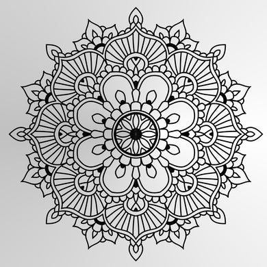MANDALA ROUND MEDALLION Sizes Reusable Stencil Exotic Oriental Travel Style 'Mandala6'