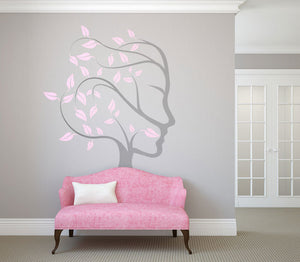 Tree of Life Big & Small Sizes Colour Wall Sticker Oriental Exotic Bohemian Mandala 'Treeoflife6'