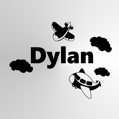 CUSTOM BOY'S NAME Sizes Reusable Stencil Kids Room Bedroom 'DYLAN'