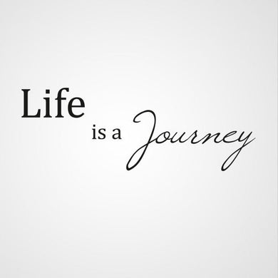 ,,LIFE IS YOUR JOURNEY'' QUOTE Sizes Reusable Stencil Modern Style 'Q56'