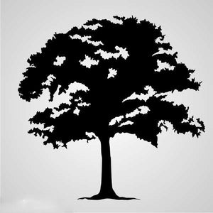 SINGLE TREE Sizes Reusable Stencil Floral Nature Modern Shabby Chic 'Tree27'