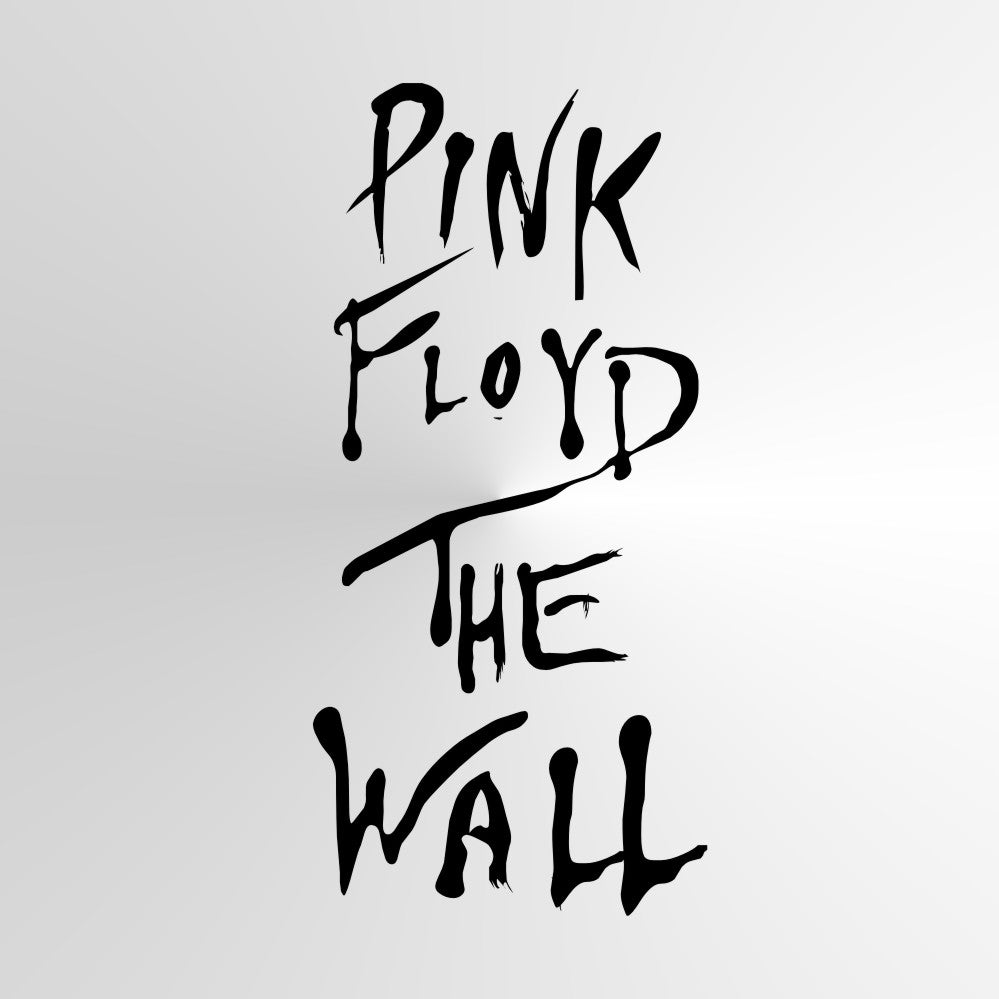 PINK FLOYD THE WALL Music Band Sizes Reusable Stencil Modern Style 'Q67'