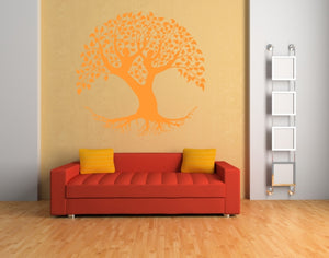 TREE OF LIFE LOVE COUPLE MANDALA Big & Small Sizes Colour Wall Sticker Floral Modern 'Tree of life1'