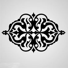 BAROQUE ORNAMENT Sizes Reusable Stencil Shabby Chic Romantic Style 'Deco9'