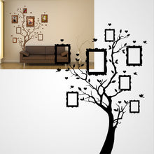FAMILY TREE PICTURES FRAMES Big & Small Sizes Colour Wall Sticker Modern 'Tree50'