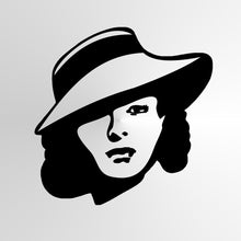 Greta Garbo Reusable Stencil Big Sizes Wall Decor Modern Style Movie Star Film Actress / Greta