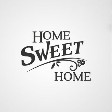 ,,HOME SWEET HOME'' QUOTE Sizes Reusable Stencil Modern Style 'Q29'