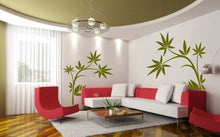 BIG ORIENTAL PLANT Big & Small Sizes Colour Wall Sticker Shabby Chic Romantic Style 'J9'