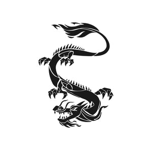 Chinese Japanese Dragon Big & Small Sizes Colour Wall Sticker Art Craft Oriental 'drag2'