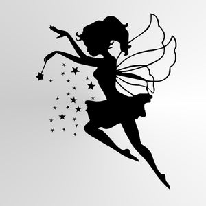 MAGIC WAND FAIRY STARS KIDS ROOM Various Sizes Reusable Stencil Wall Decor Kids Room'Kids15'