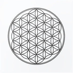 FLOWER OF LIFE MANDALA Sizes Reusable Stencil GEOMETRIC 'Floweroflife'