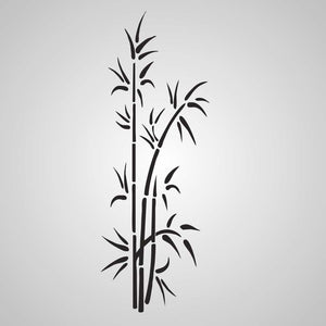 BAMBOO PLANT Sizes Reusable Stencil Oriental Floral Romantic Style 'Bamboo1'