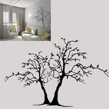 TWO TREES Big & Small Sizes Colour Wall Sticker Modern Floral Shabby Chic Style 'Tree3'