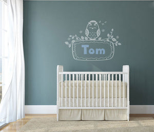CUSTOM BOY'S NAME Big Sizes Reusable Stencil Kids Room Bedroom 'TOM'