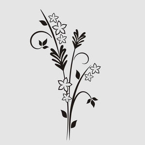 EAR OF GRAIN BUNCH FLOWERS Sizes Reusable Stencil Shabby Chic Romantic Style 'J55'