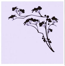 BALL FLOWERS CHERRY TREE Big & Small Sizes Colour Wall Sticker Shabby Chic Romantic Style 'J24'