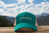 Trail Trucker Hat - Teal