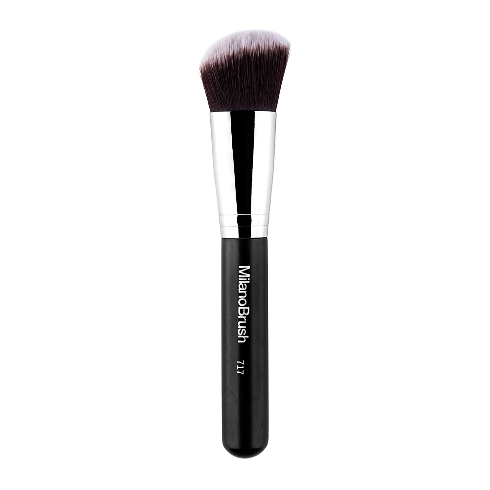 MilanoBrush 717 Angled Face Brush