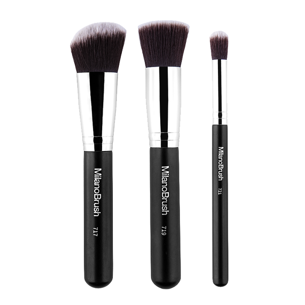 MilanoBrush Basic Face Brush Kit