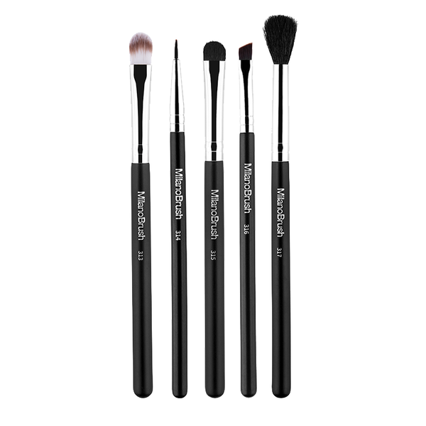 MilanoBrush Essential Eye Brush Kit