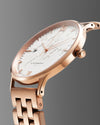 World Traveler Date RGW 41MM <b>New & Swiss Made</b>, watch, flachsmannwatches.ch, flachsmannwatches.ch- flachsmannwatches.ch