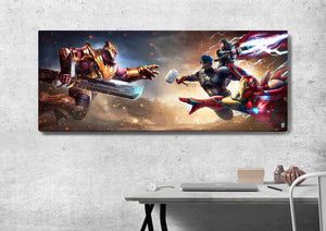 LIMITED EDITION PREMIUM CANVAS - Avengers vs Thanos