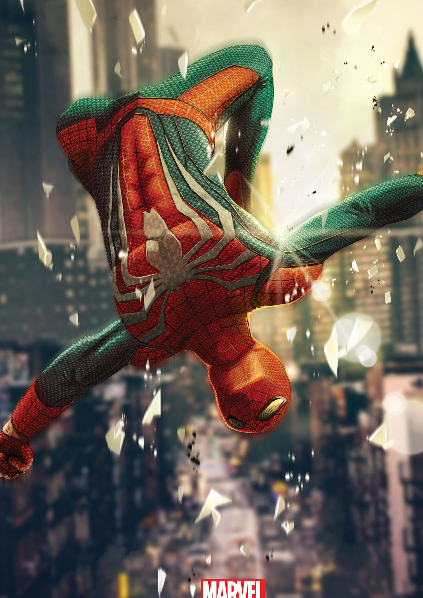 Spider-man PS4 Art Print