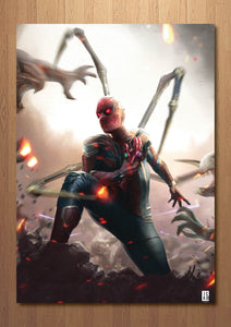 Spiderman Instant Kill Art Print