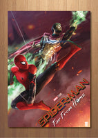 Spiderman Far from Home Art print