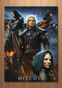 The Witcher Art Print
