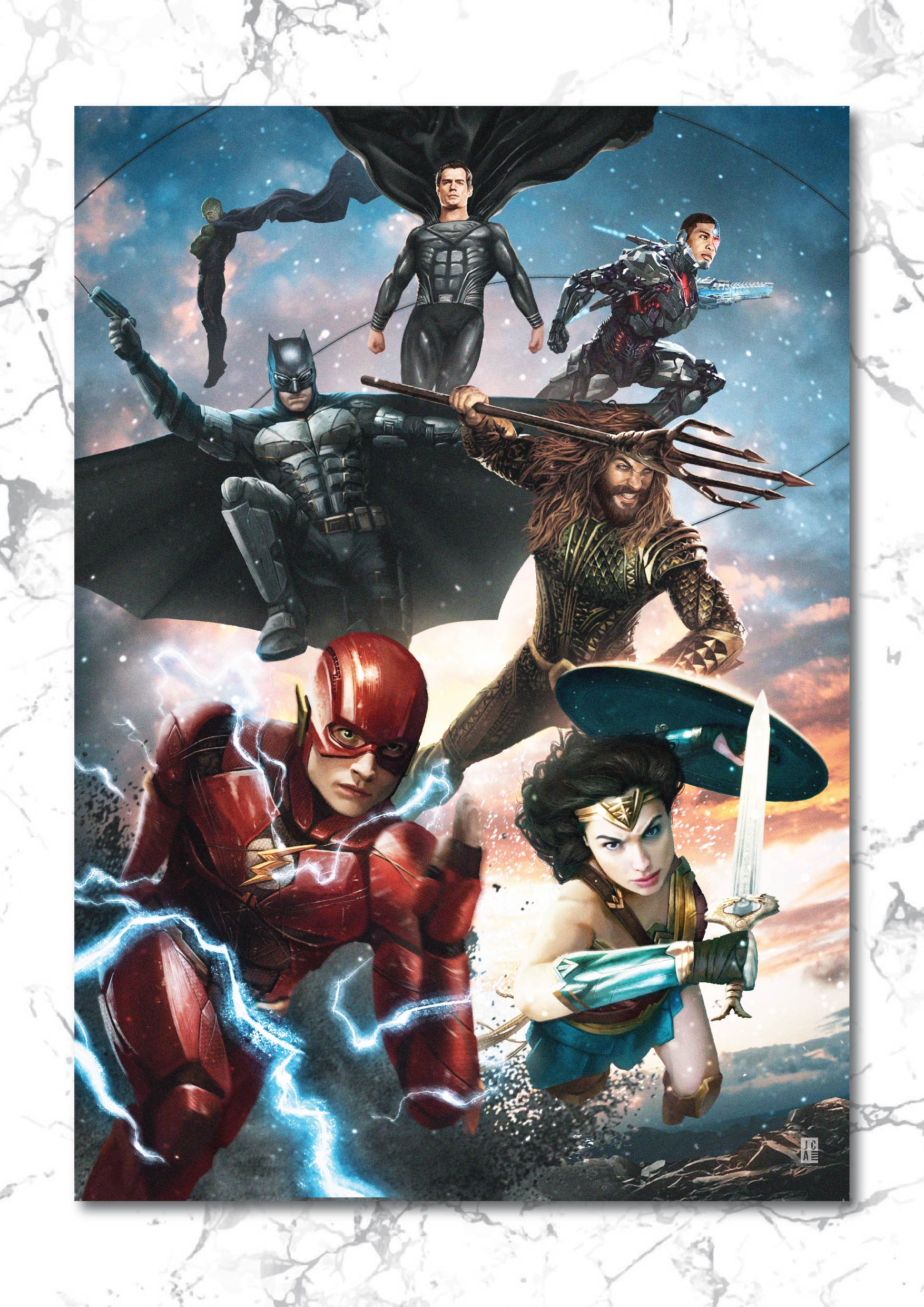 Justice League - Snyder Cut Art Print