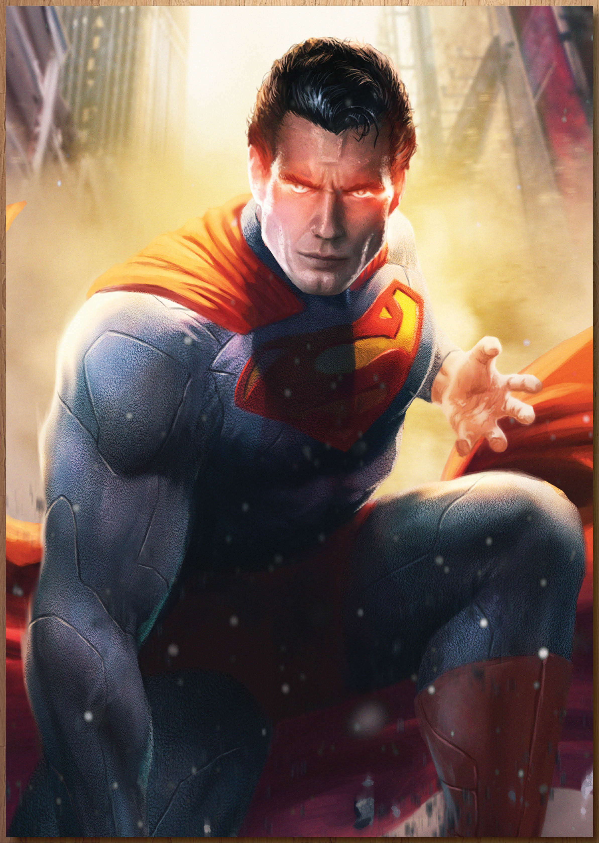 Man of Steel Art print