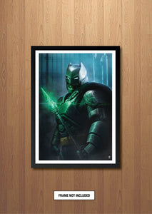 Armored Batman Art print