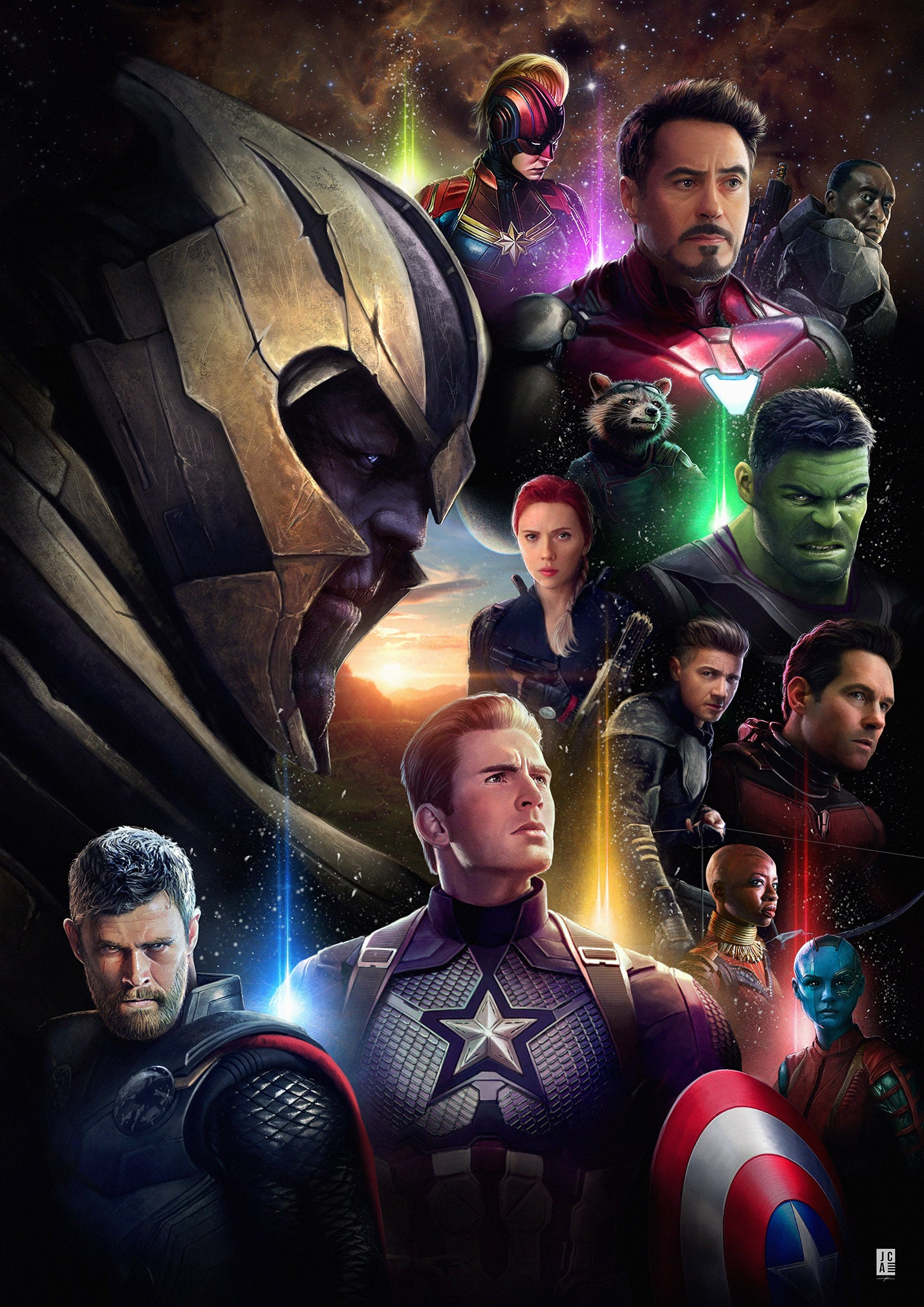 LIMITED EDITION PREMIUM CANVAS - Avengers Endgame