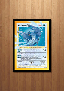 Articuno - Giant Pokemon Card Print