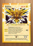 Zapdos - Giant Pokemon Card Print
