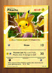 Pikachu - Giant Pokemon Card Art Print