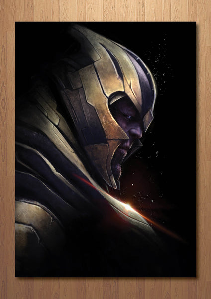 Thanos Endgame Art Print