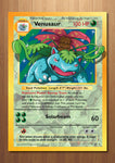 Venusaur - Giant Pokemon Card Art Print