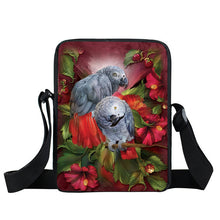 African Grey Cross-body Bag