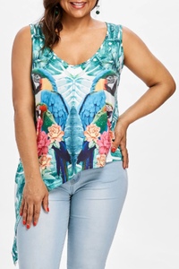 Macaw Camisole / Tank-top