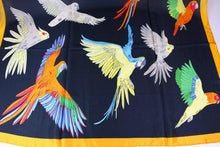 Great gift idea!  Buttery-soft, over-sized evening scarf with conures, macaws, cockatoos & more parrots!