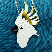 Fun Cockatoo Pendant and Necklace
