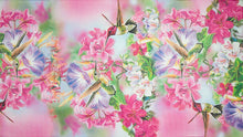 Excellent gift for the hummingbird lover - a genuine silk hummingbirds scarf