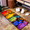 Colorful Parrots Doormat / Area Rug
