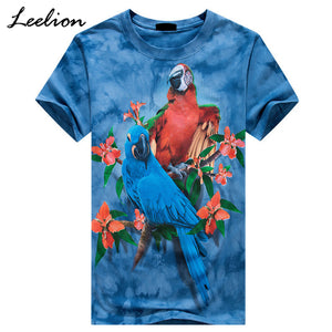 Two Macaws 3D Printed T-shirt
