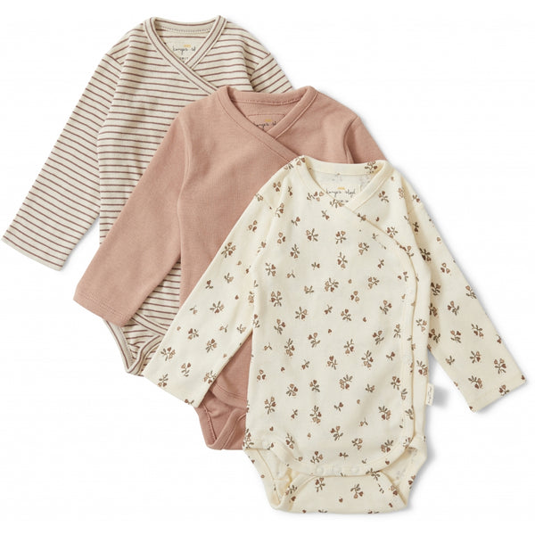 New Born Body Nuevo 3 Pack -  Petit Amour/Striped/Blush